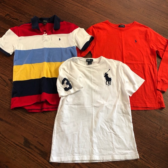 ae225b241 Polo by Ralph Lauren Shirts & Tops | Lot Of 3 Shirts Boys Large 1416 ...
